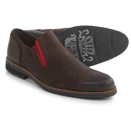 Blackstone Scm001 Leather Loafers (For Men) in Praline - Closeouts