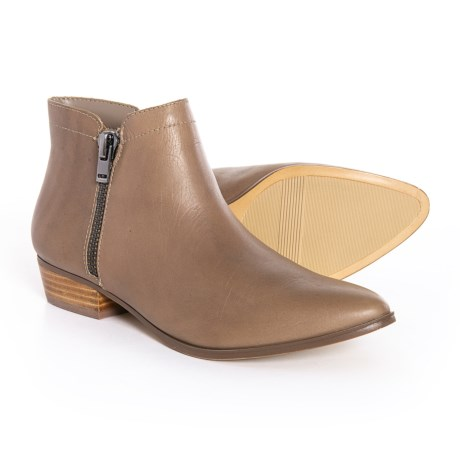 Image of Blair Ankle Booties - Leather (For Women)