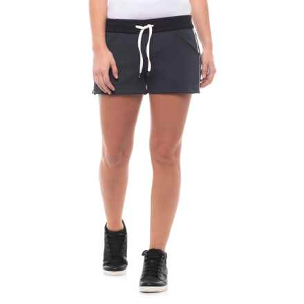 Blanc Noir Butterfly Shorts (For Women) in Navy/Black - Closeouts