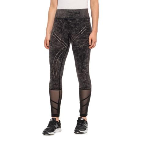 90f9421f480f Blanc Noir Excel Leggings (For Women) in Grey Wash/Black