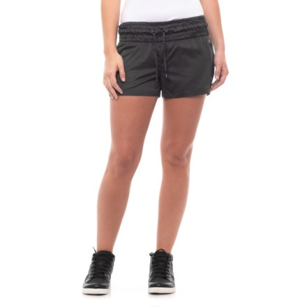 4cd4ff93454 Blanc Noir Glider Lounge Shorts (For Women) in Black Black - Closeouts