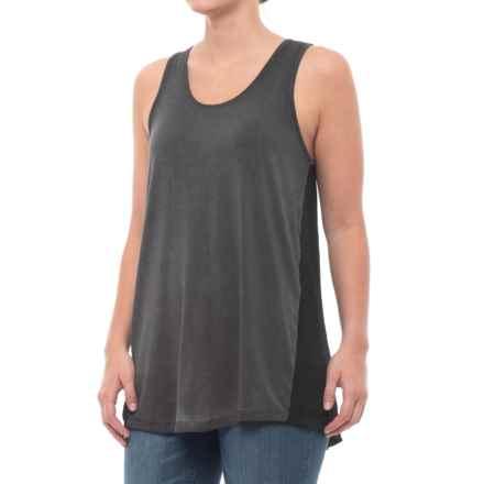 BLANC NOIR Sunrise Tank Top (For Women) in Black/Black - Closeouts