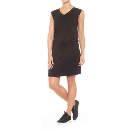 Blanc Noir Van Ness Dress - Sleeveless (For Women) in Black - Closeouts