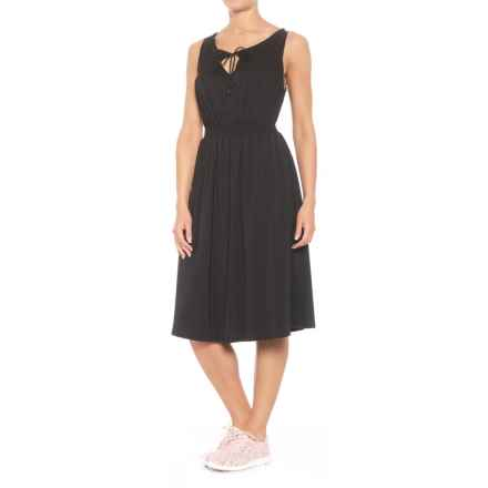 Blanc Noir Vanessa Dress - Sleeveless (For Women) in Black/Black - Closeouts