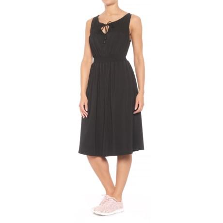 Blanc Noir Vanessa Dress - Sleeveless (For Women) in Black/Black