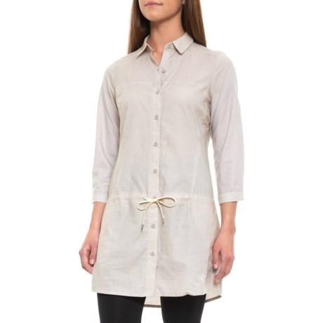 Image of Blanchard Tunic Shirt - 3/4 Sleeve (For Women)