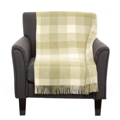 Image of Blanket Check Throw Blanket - New Wool, 40x60?