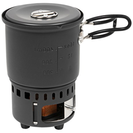 Bleuet Solid Fuel Camping Stove Combo Set in See Photo