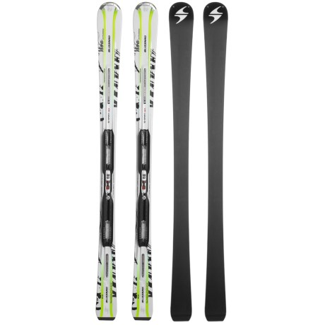 Blizzard 2011/2012 Viva Ultrasonic Power IQ Alpine Skis - IQ Power 11 Bindings (For Women) in Asst