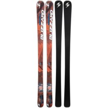 Blizzard 2013/2014 Magnum 8.0 TI Alpine Skis in Orange/Blue - Closeouts