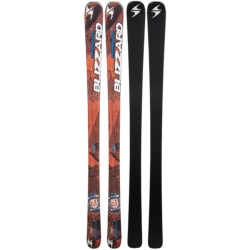 Blizzard 2013/2014 Magnum 8.0 TI Alpine Skis in Orange/Blue