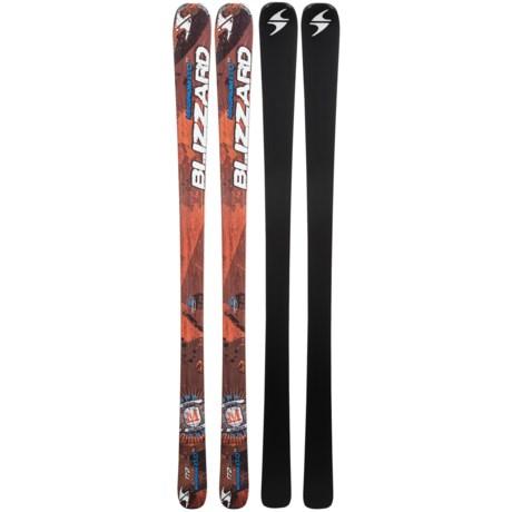 Blizzard 2013/2014 Magnum 8.0 TI Alpine Skis in Orange/Grey