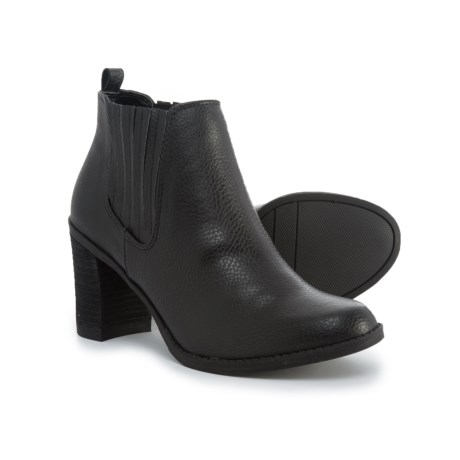 Image of Block Heel Ankle Boots (For Women)