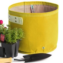 Bloem Bagz Recycled Plastic Classic Planter - 3-Gallon in Yellow - Closeouts