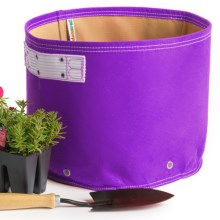 Bloem Bagz Recycled Plastic Classic Planter - 7-Gallon in Purple - Closeouts