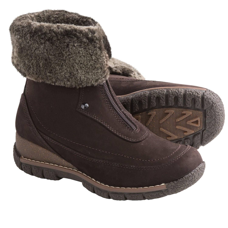 fbe1c0e39e1 Women's Shearling Winter Boots | Santa Barbara Institute for ...