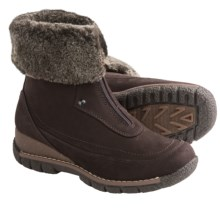 Blondo Avril Winter Boots - Leather, Shearling Lining (For Women) in Cafe - Closeouts