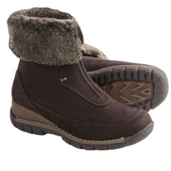 Blondo Avril Winter Boots - Leather, Shearling Lining (For Women) in Cafe