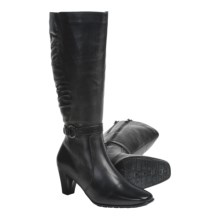 Blondo Carry Knee-High Boots - Leather (For Women) in Black - Closeouts