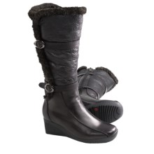 Blondo Comina Winter Boots - Leather (For Women) in Black - Closeouts