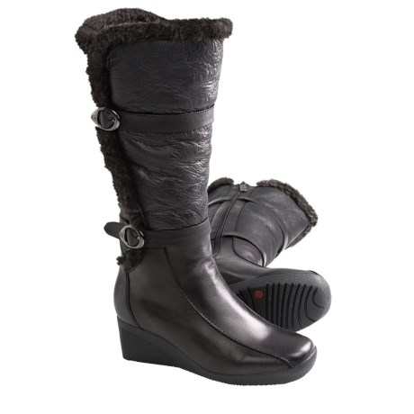 Blondo Comina Winter Boots - Leather (For Women) in Black