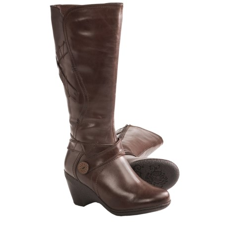 Blondo Leana Boots - Leather (For Women) in Rusty Leather
