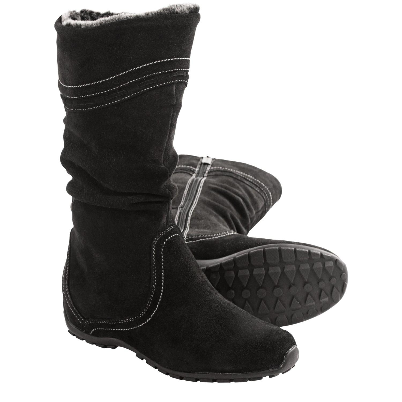Women's Zippered Winter Boots 119