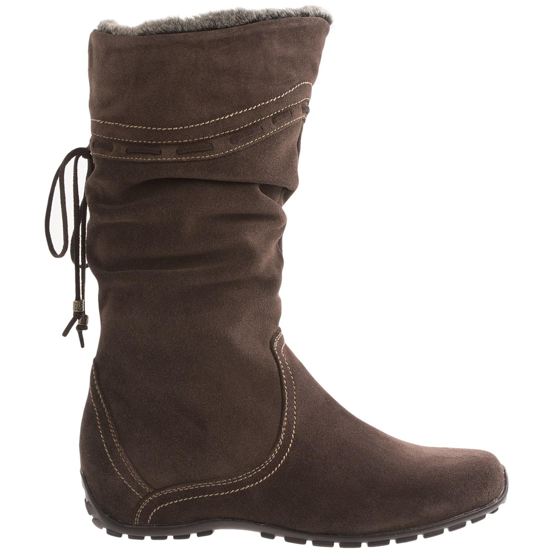 7408C_5 Blondo Madras Snow Boots - Side Zip (For Women)