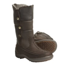 Blondo Mountain Boots - Waterproof Leather (For Women) in Dark Brown Irish Leaf Pebbled - Closeouts