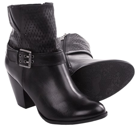 Blondo Petunia Ankle Boots - Leather (For Women) in Black
