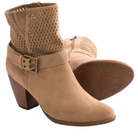 Blondo Petunia Ankle Boots - Leather (For Women) in Camel