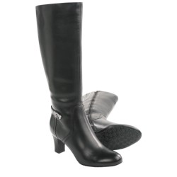 Blondo Princia Boots - Leather, Side Zip (For Women) in Black