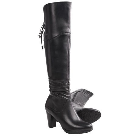 Blondo Providence Tall Boots - Leather (For Women) in Black Leather