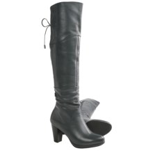 Blondo Providence Tall Boots - Leather (For Women) in Grey - Closeouts