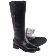 Blondo Vida Leather Boots (For Women) in Black - Closeouts