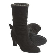 Blondo Virginia Boots - Leather, Wool Lining (For Women) in Black - Closeouts