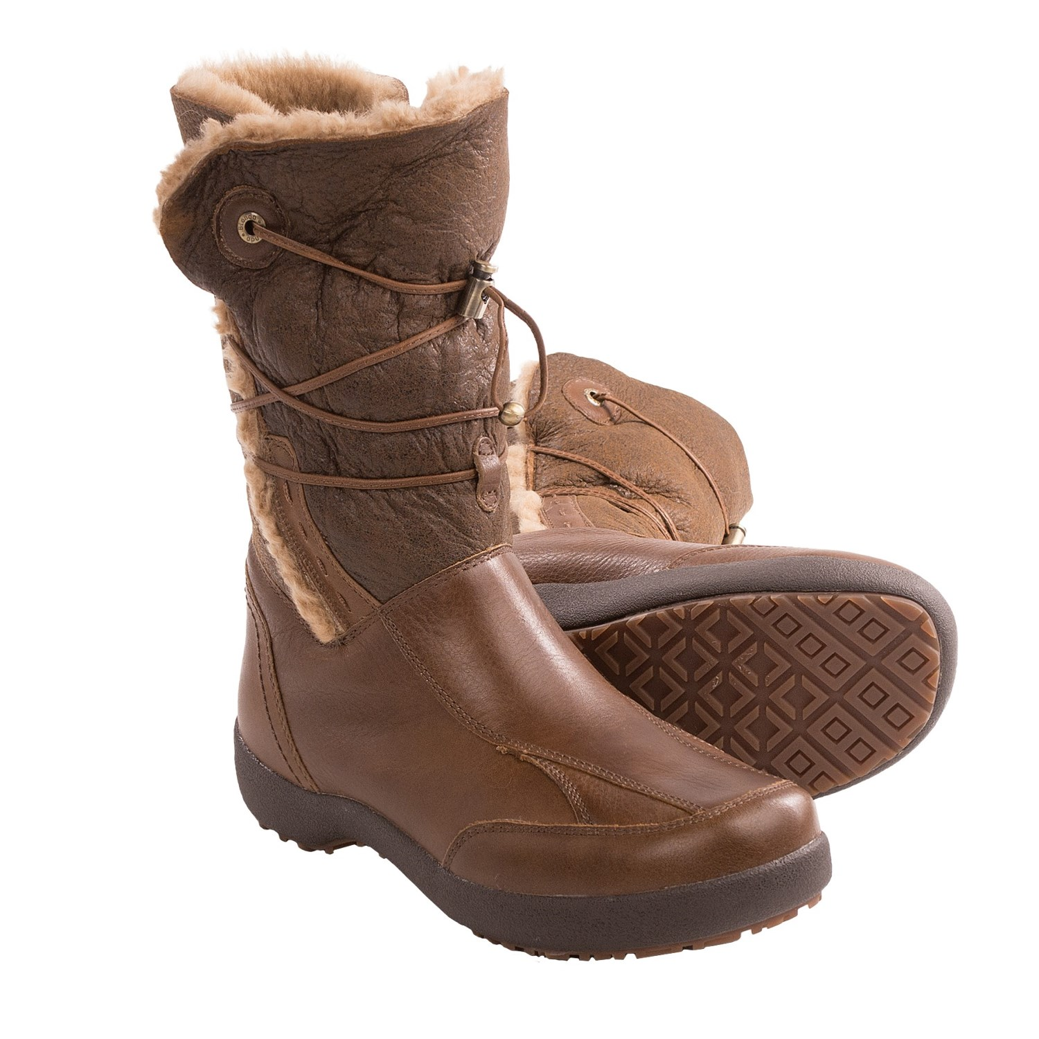 Blondo Waverly Boots Leather Wool Lined For Women In