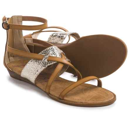 Blowfish Badot Gladiator Sandals (For Women) in Sand/Gold - Closeouts