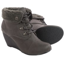Blowfish Beau Wedge Boots (For Women) in Grey - Closeouts