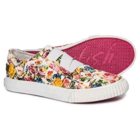 Blowfish Bianka-K Sneakers (For Girls) in Off White Mystic Garden Print - Closeouts