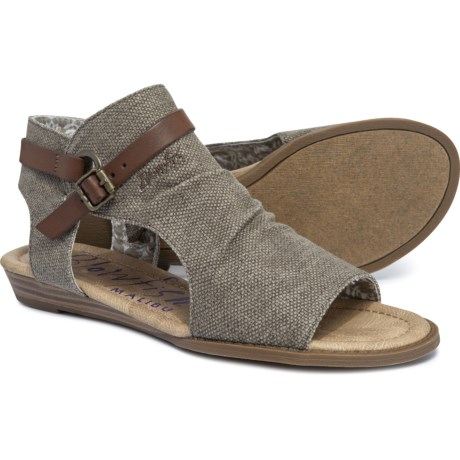 08aa6d3edc53 Blowfish Brisa 2 Wedge Sandals (For Women) in Brown Rancher