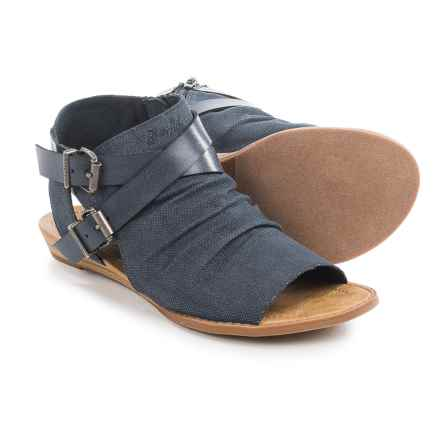 Blowfish Brisa Ranch Sandals - Canvas (For Women) in Indigo - Closeouts