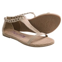 Blowfish Dole Sandals (For Women) in Natural Cozumel Linen - Closeouts