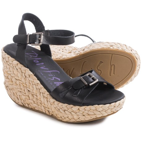 Blowfish Drive In Wedge Sandals (For Women)