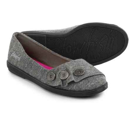 Blowfish Garnet Shoes - Slip-Ons (For Little and Big Girls) in Grey New Jersey - Closeouts