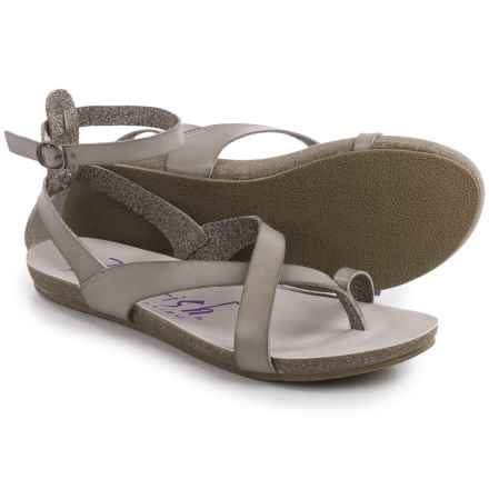 Blowfish Gill Sandals (For Women) in Mushroom - Closeouts