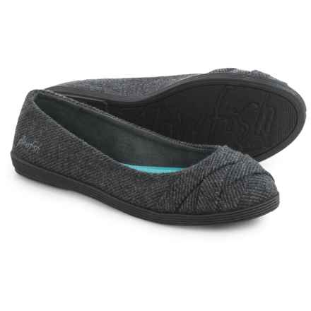 Blowfish Glo 2 Ballet Flats (For Women) in Grey Covent Tweed - Closeouts