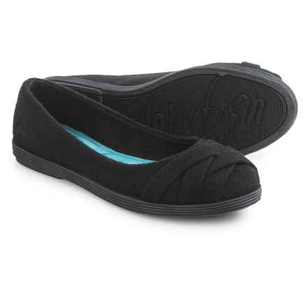 Blowfish Glo 2 Ballet Flats (For Women) in Solid Black - Closeouts