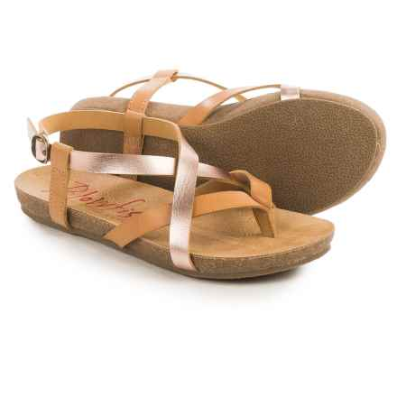 Blowfish Granola Sandals (For Little and Big Girls) in Desert Sand/Rose Gold Pisa - Closeouts