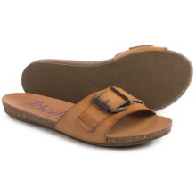Blowfish Graph Sandals - Vegan Leather, Slip-Ons (For Women) in Desert Sand - Closeouts
